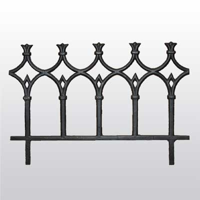 Cast Iron Ornamental Fence Panel Irongate Garden Elements