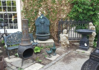 wall-fountain-and-iron-fire-chimney