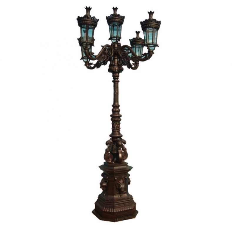 Cast Iron Ornate Lamp Post Irongate Garden Elements